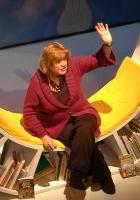 Liz Weir telling stories
